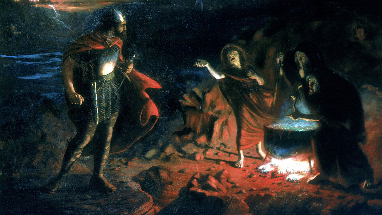 an analysis of the characters of the witches in the play macbeth by william shakespeare Macbeth is a scottish general and the thane of glamis who is led to wicked thoughts by the prophecies of the three witches, especially after their prophecy that he will be made thane of cawdor comes true.