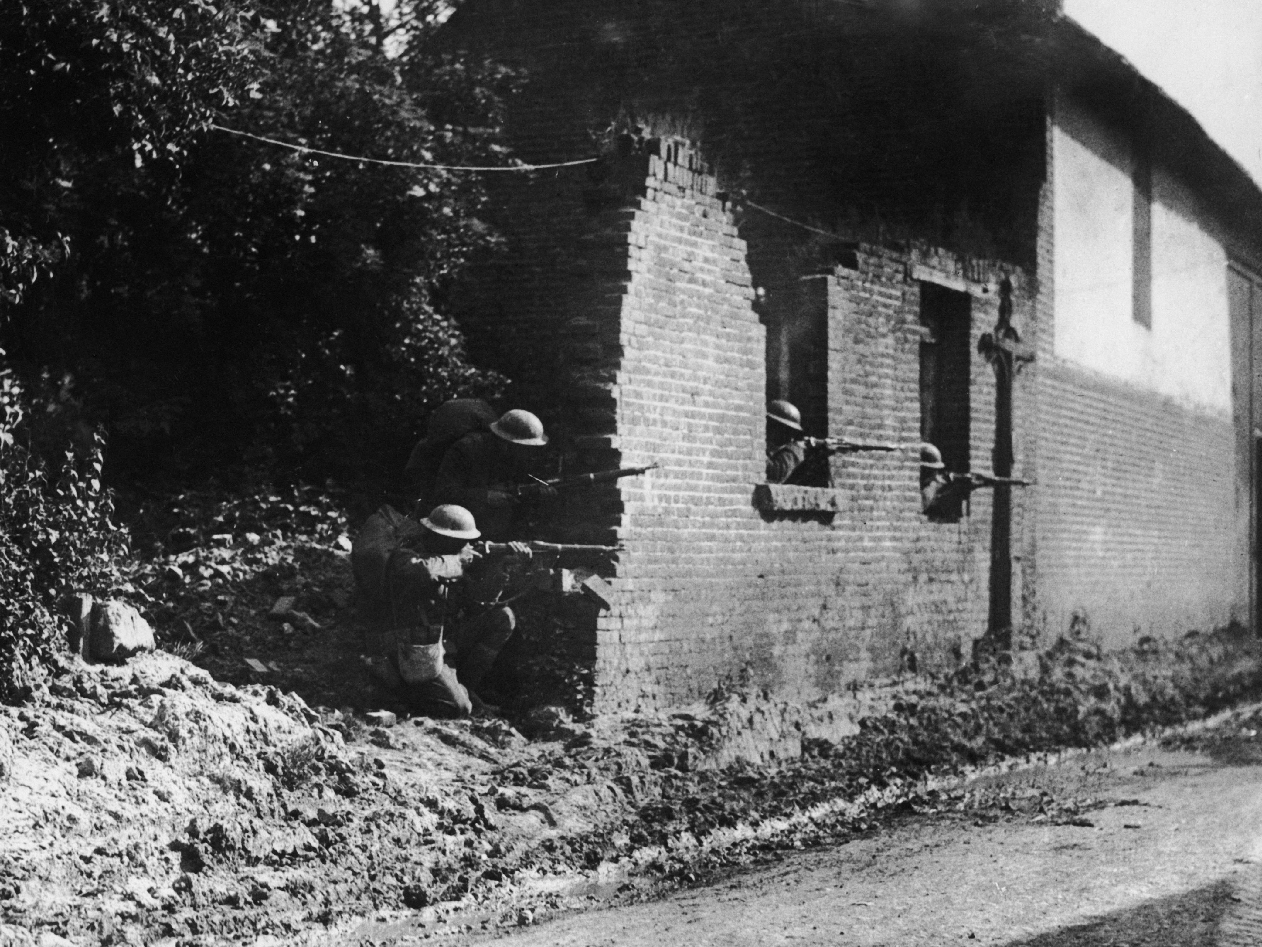 american troops france 1918
