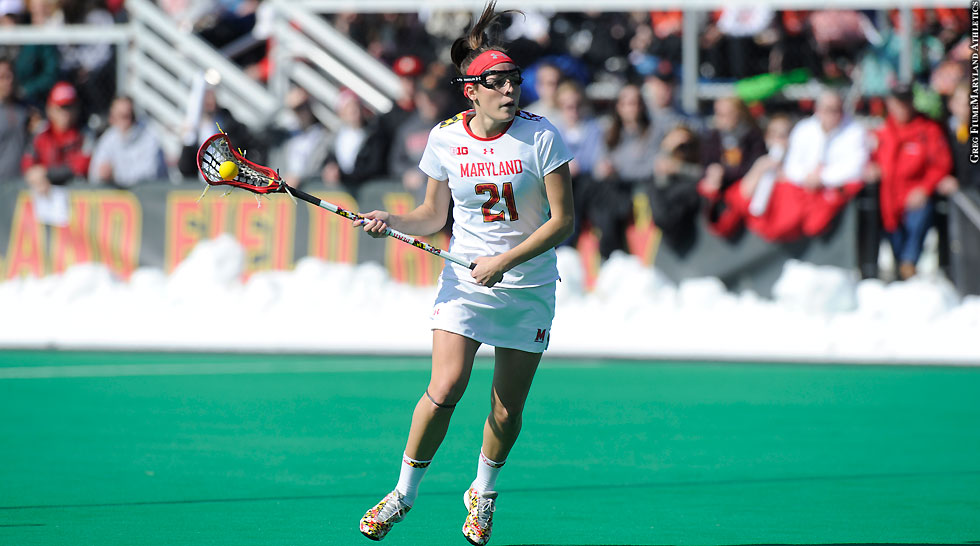 Terps Maryland Women's Lacrosse 2015: Taylor Cummings (full height)