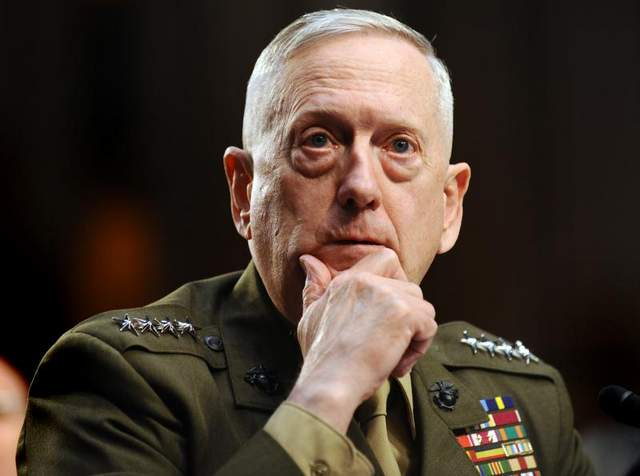 Retired Marine Gen. James N. Mattis