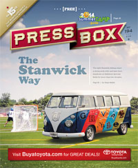 Issue 194: Cover In The Paper: February 2014 cover (promo image only)