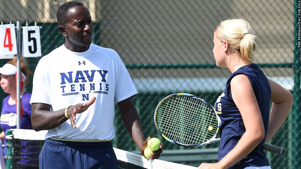 Issue 244: Navy Women's Tennis 2018: Keith Puryear and Amanda Keller