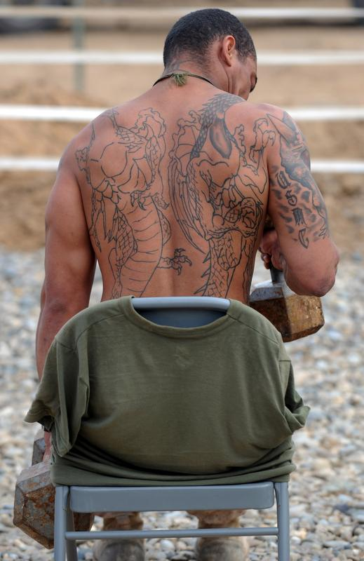 Marines attending resident pme to be screened for tattoos for Army officer tattoo policy