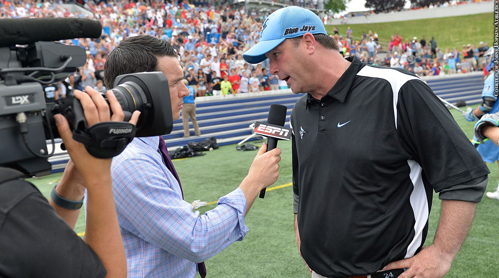 Issue 217: Johns Hopkins Lacrosse 2015: Dave Pietramala