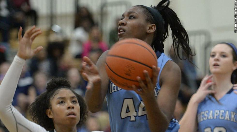 Issue 217: Chesapeake Girls Basketball 2015: Brooke Worrell