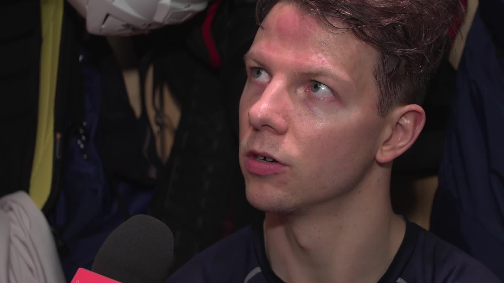 Alex Chiasson Pregame | November 30