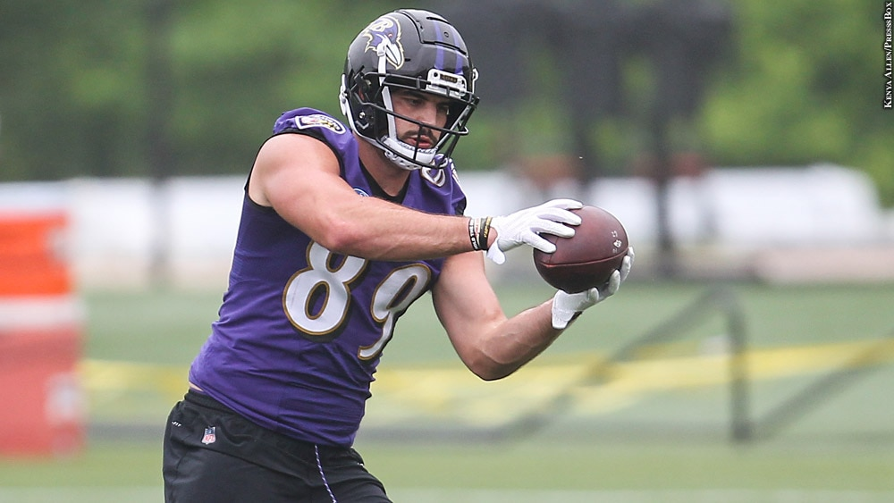 Ravens 2018: Mark Andrews (OTAs, May 31)