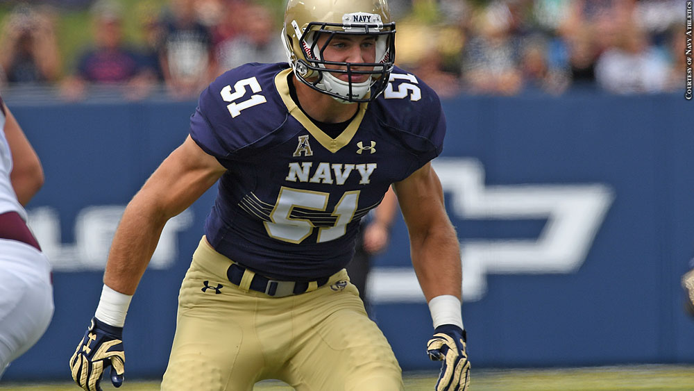 Issue 227: Navy Football 2016: Winn Howard
