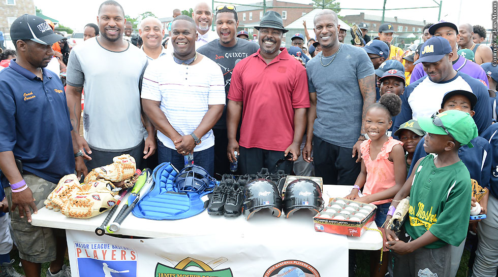 Current. Former Orioles Give Back To James Mosher Baseball Program (including Adam Jones)