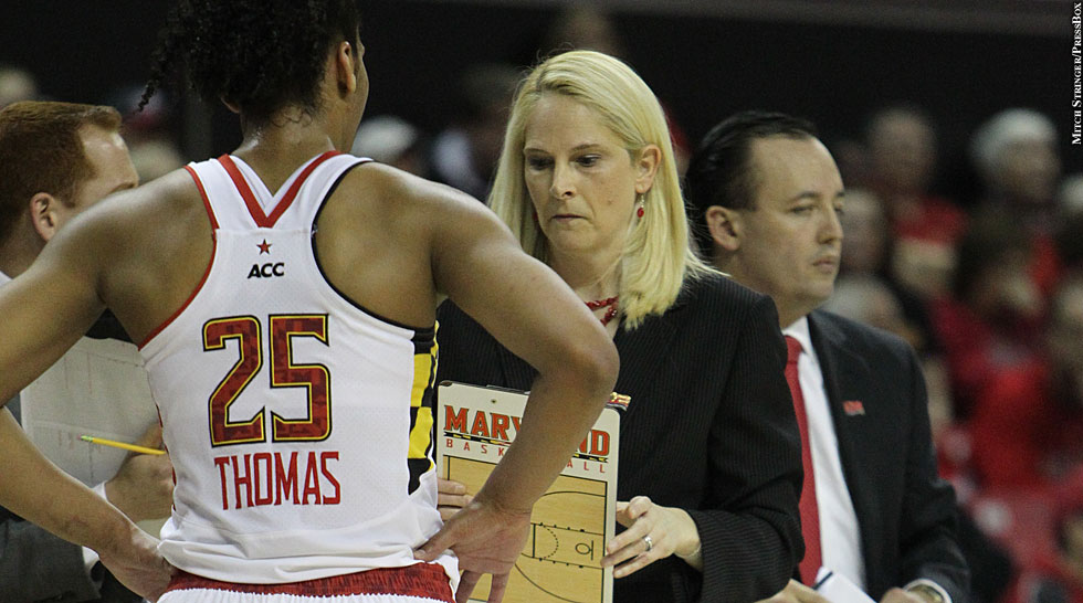 Terps Women's Basketball 2013: Alyssa Thomas, Brenda Frese