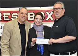 Glen Burnie Transmission >> Front Row Winners Of Super Pool Contribute To Charities