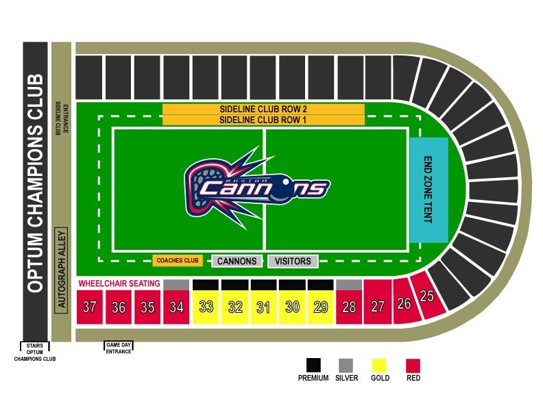 2018 Stadium Map