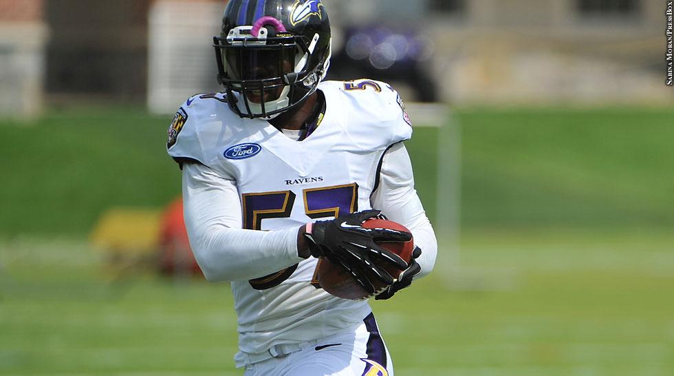 Issue 200: Ravens 2014: C.J. Mosley (training camp)