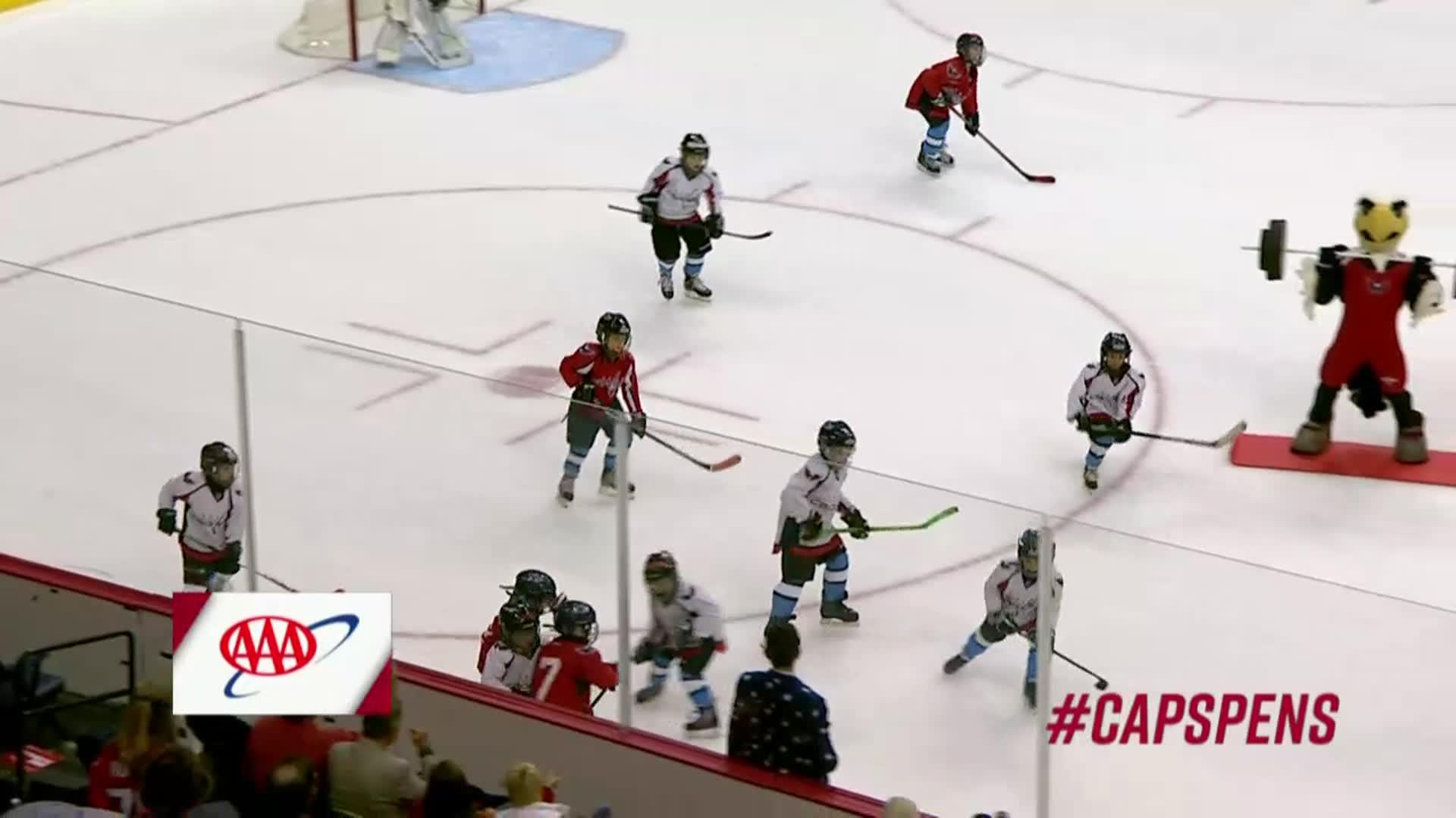 #CapsPens Mites On Ice 11/10/17