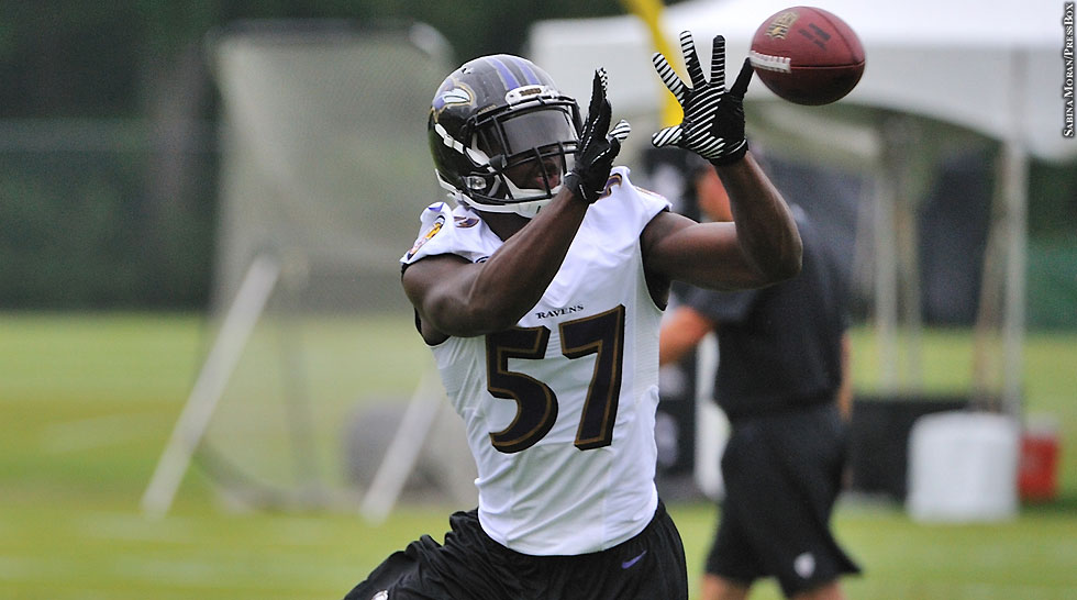Ravens 2014: C.J. Mosley (training camp)