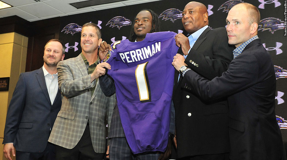 Ravens 2015: Breshad Perriman (press conference)