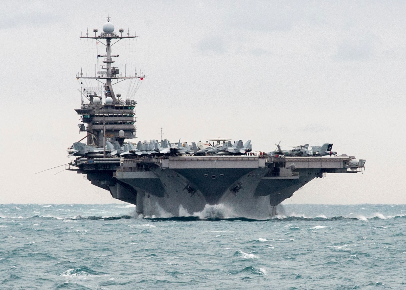 US Navy Deploys Most Carrier Strike Groups Since 2012