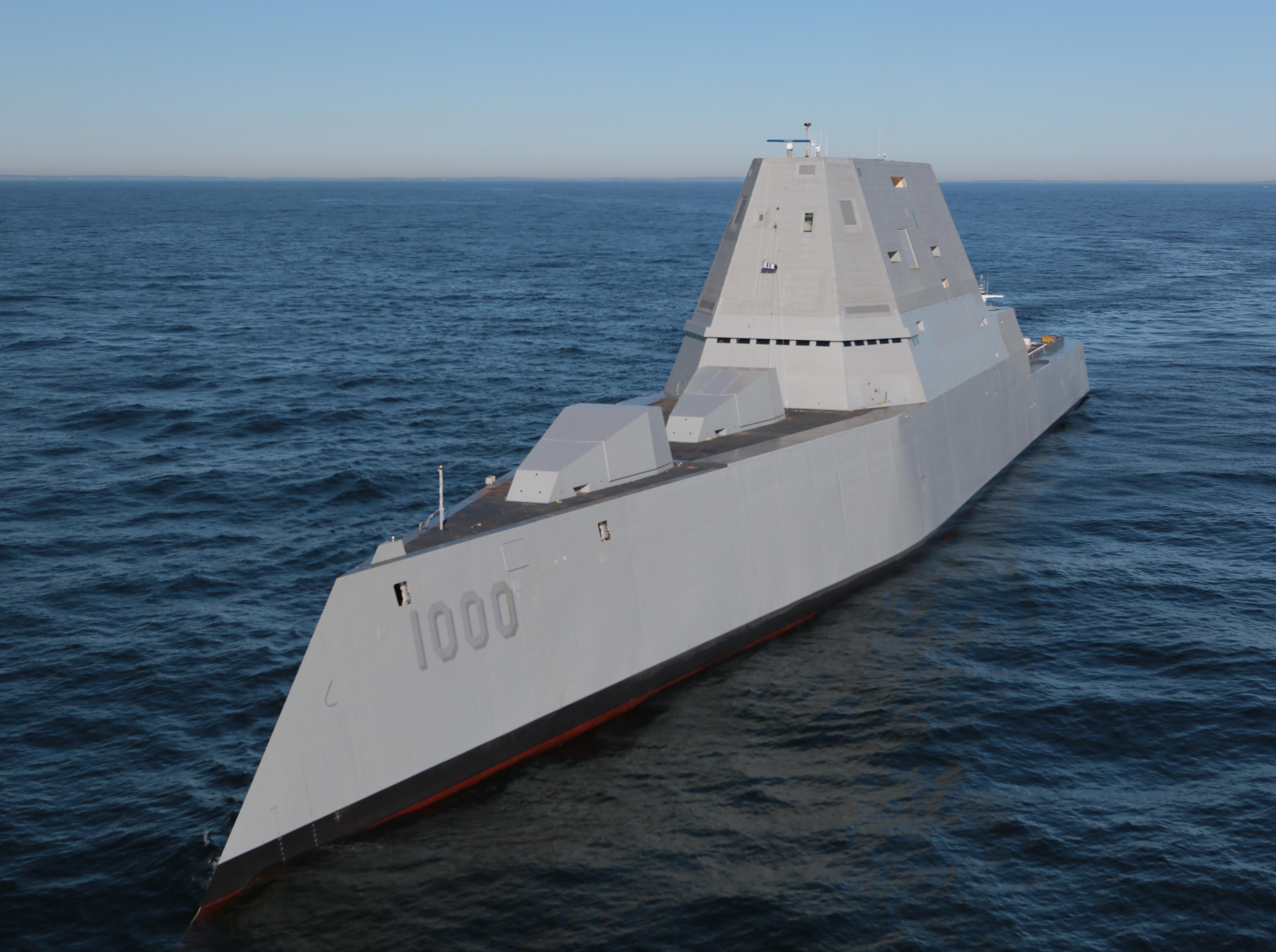 Zumwalt destroyer
