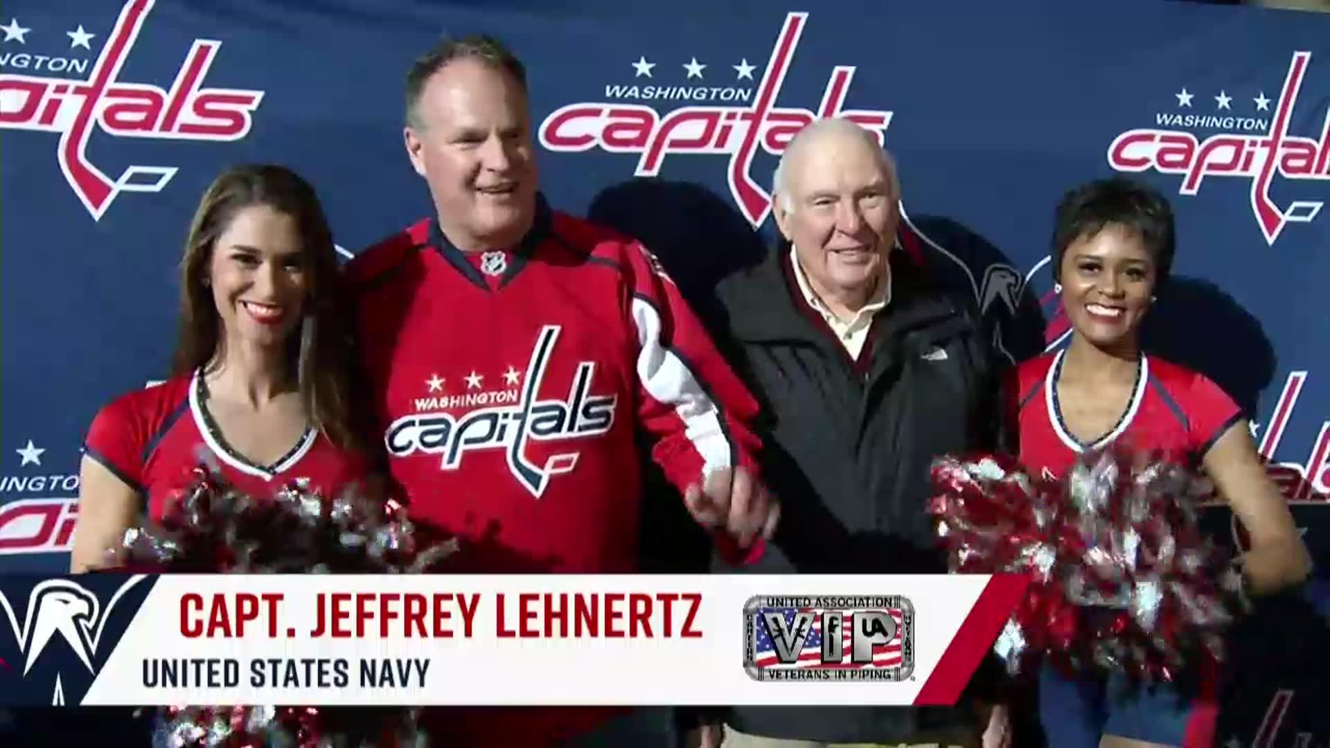 #CapsPens Salute to the Troops 11/10/17