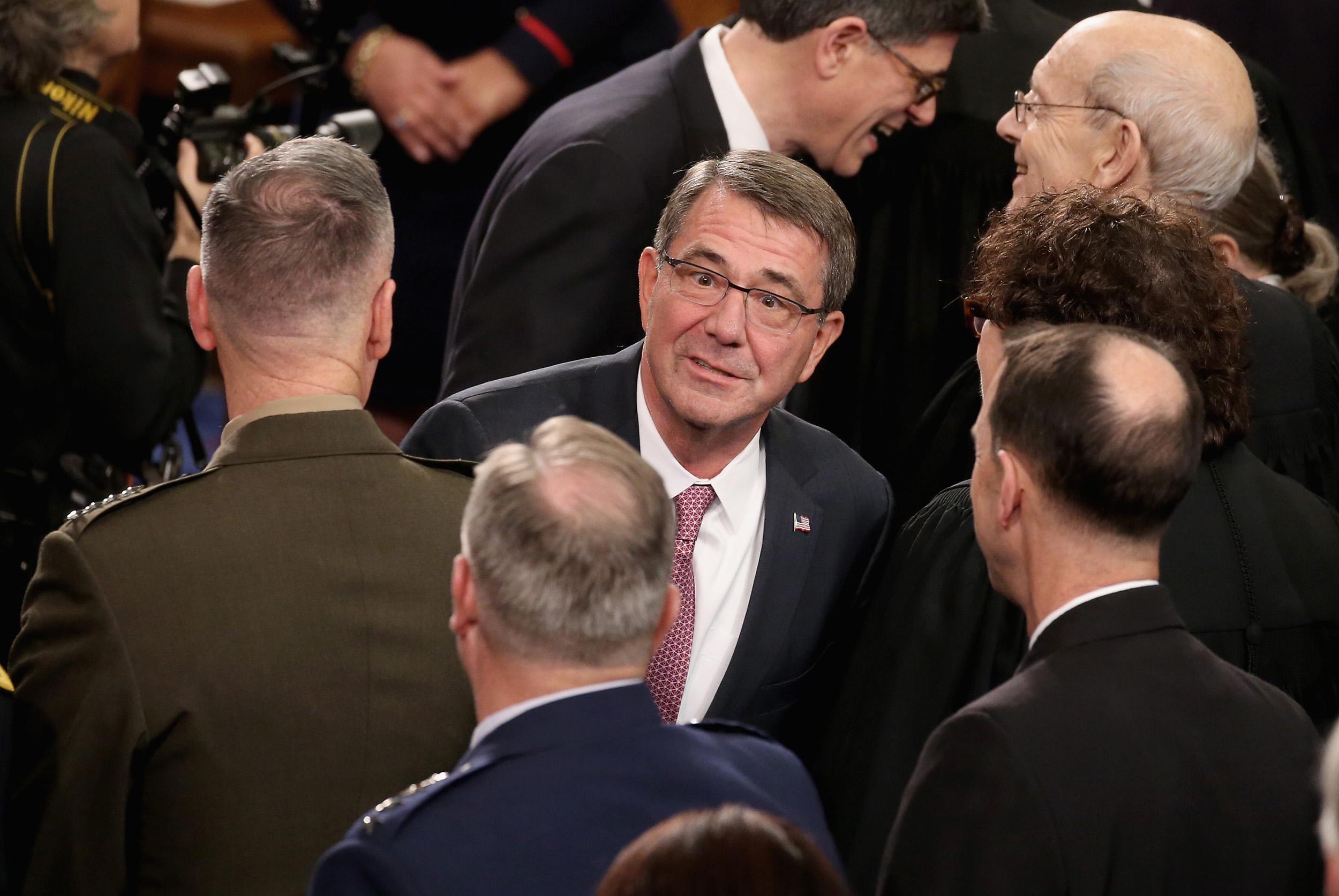 Defense Secretary Ash Carter, State of the Union