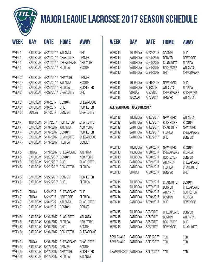 ohio machine lacrosse schedule