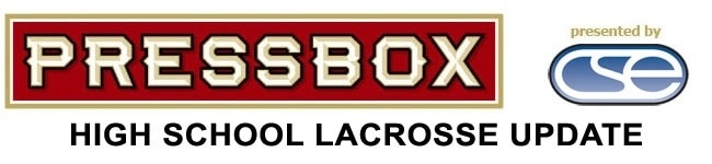 PressBox High School Lacrosse Weekly Newsletter Email header (Corrigan)