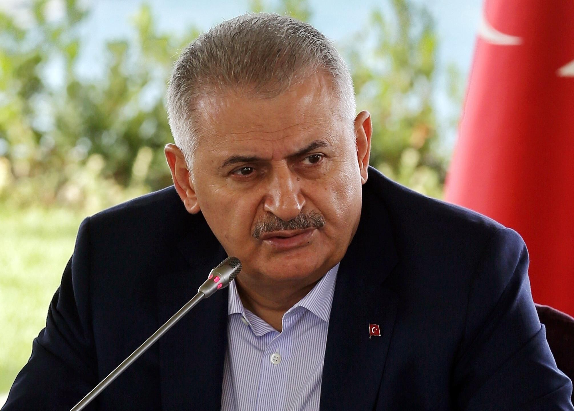 Turkish Prime Minister Binali Yildirim