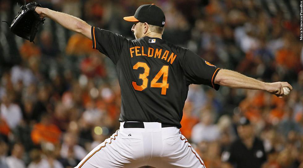 Orioles 2013: Scott Feldman