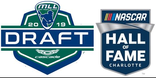 MLL Draft Nascar HOF logo