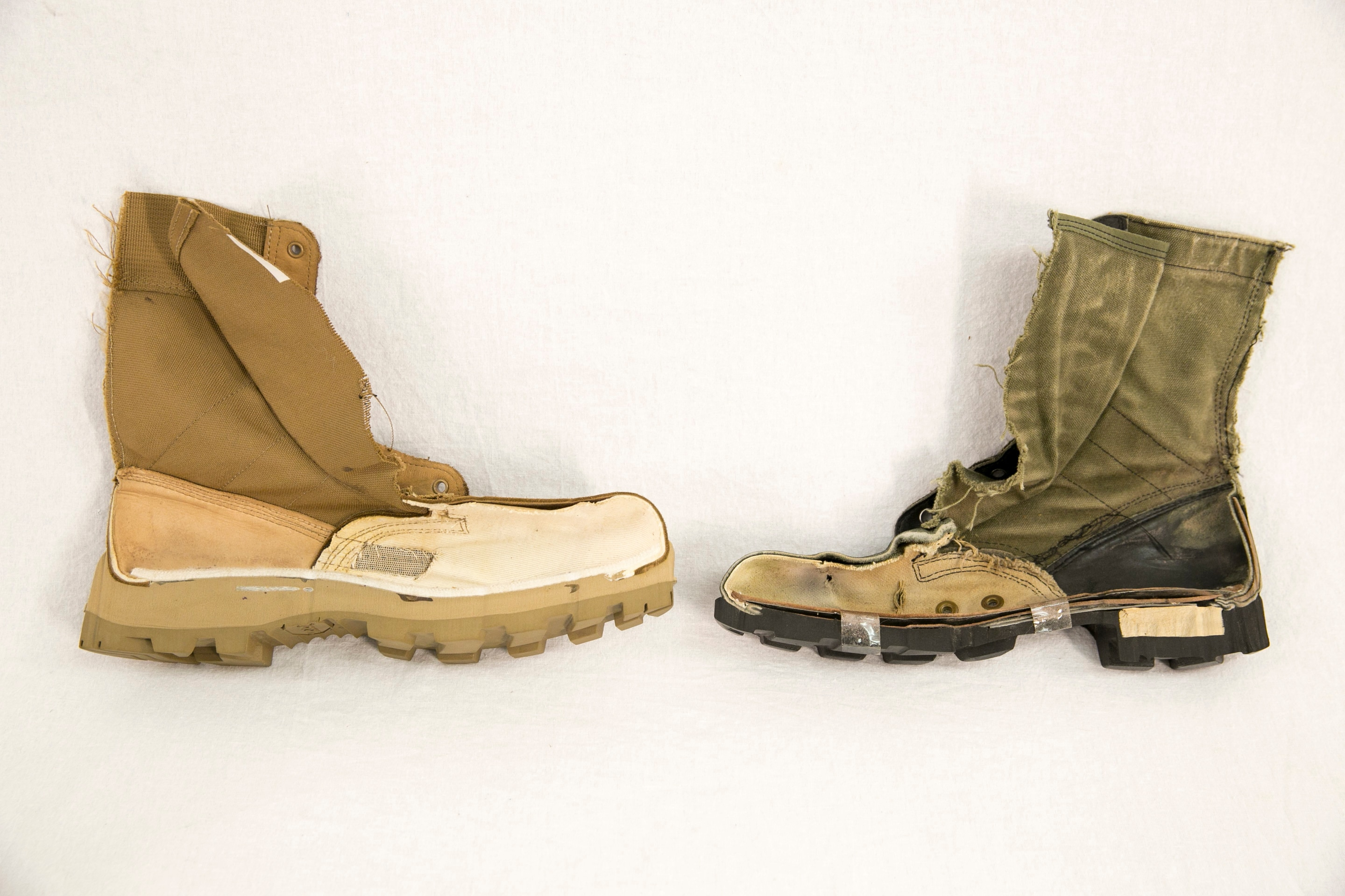 The Army is fielding new jungle boots to two BCTs starting this month