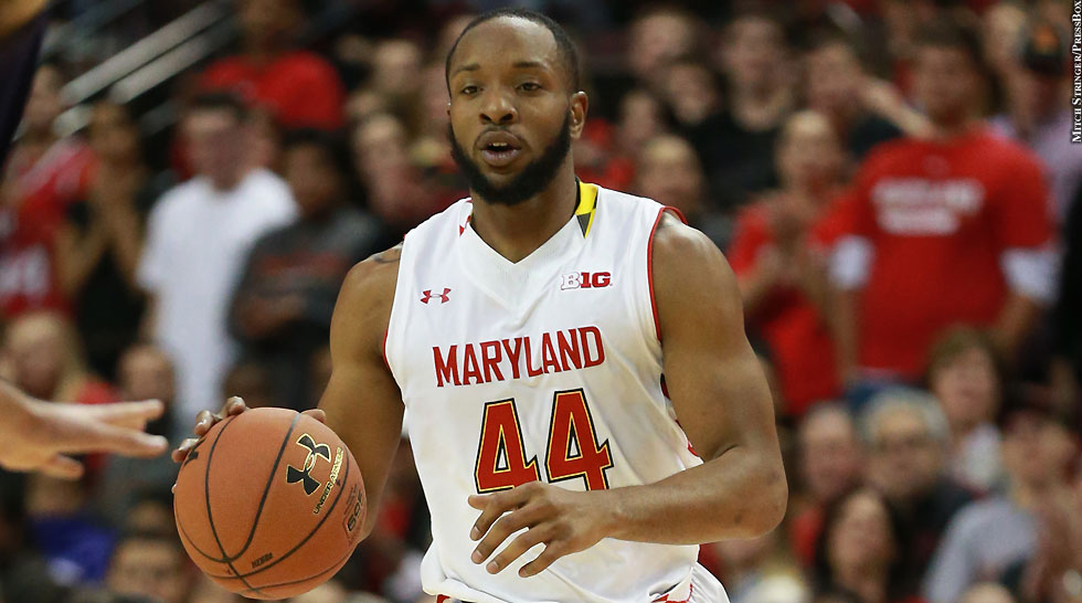 Maryland Terps Basketball 2014-15: Dez Wells (dribbling, vs. Northwestern)