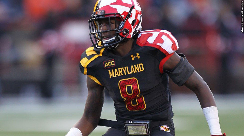 Issue 191: Maryland Footabll 2013: Levern Jacobs