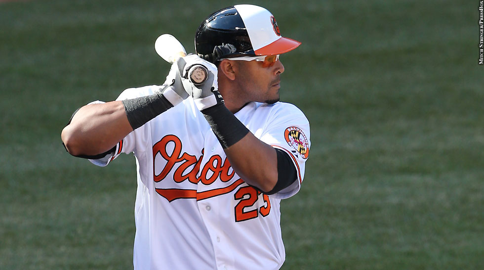Orioles 2014: Nelson Cruz (Opening Day)