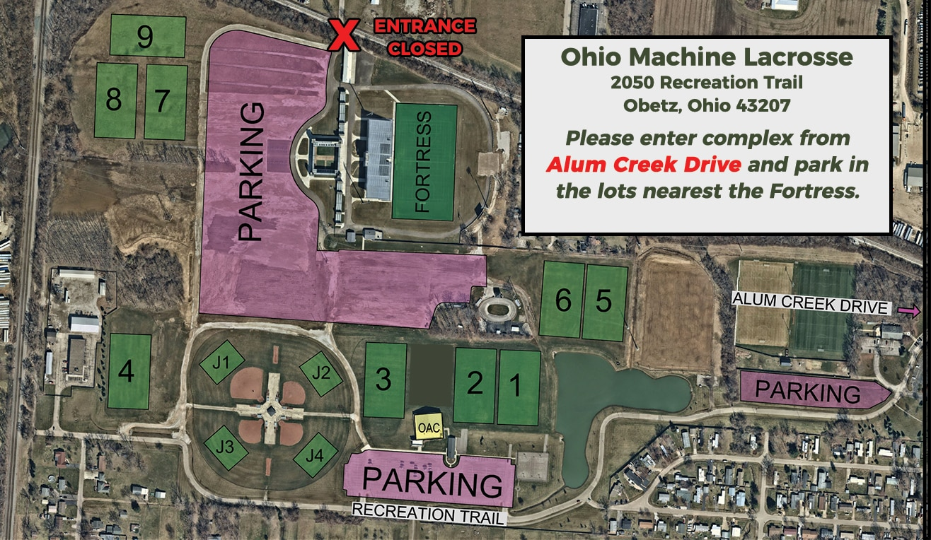 Updated Parking Parking u0026 Directions Ohio