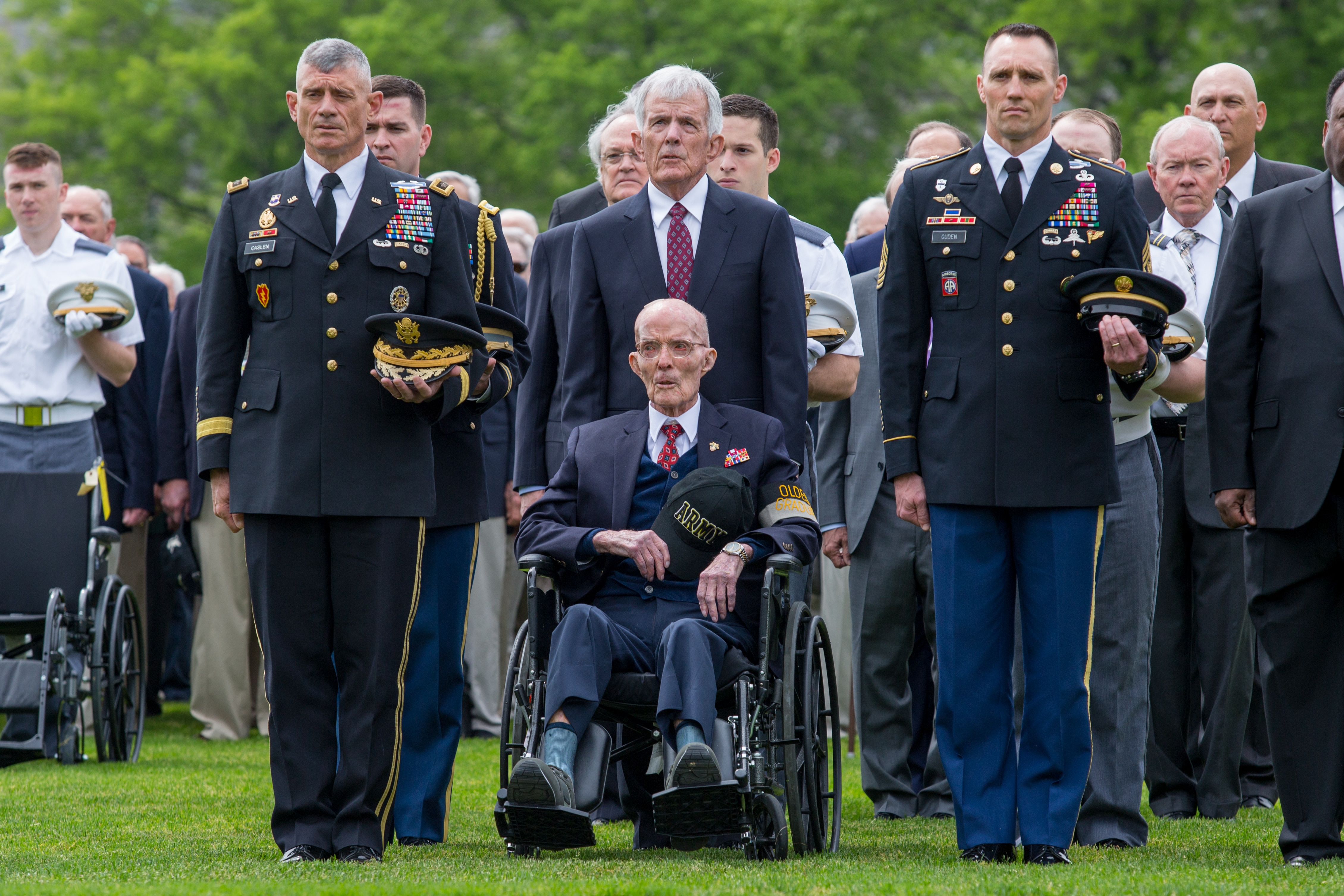 'Once in a lifetime': Oldest living West Point grad returns to academy after 84 years
