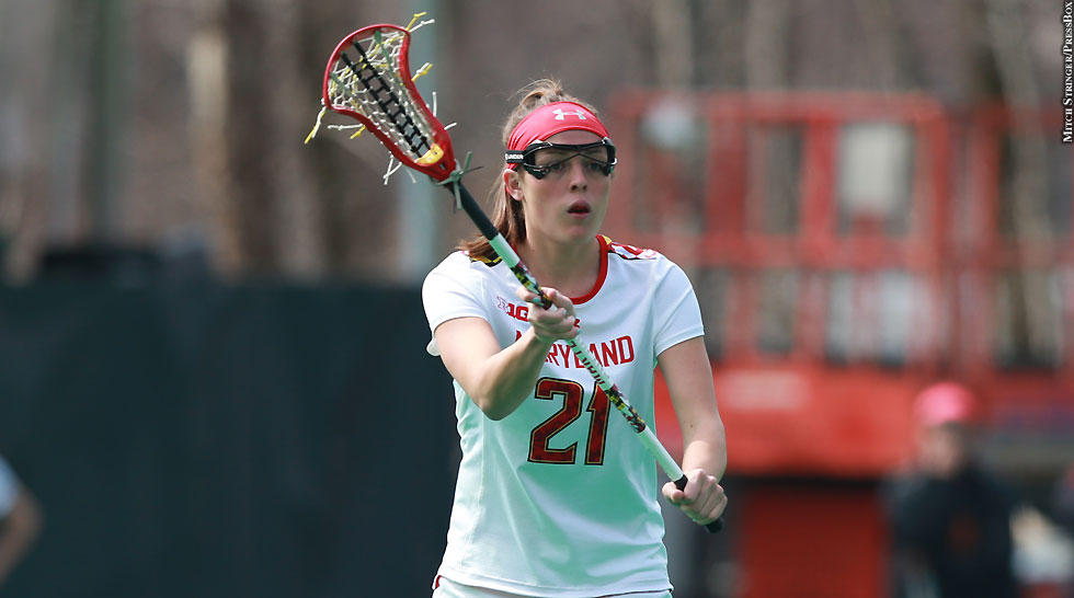 Terps Maryland Women's Lacrosse 2015: Taylor Cummings (March 21, No. 2)