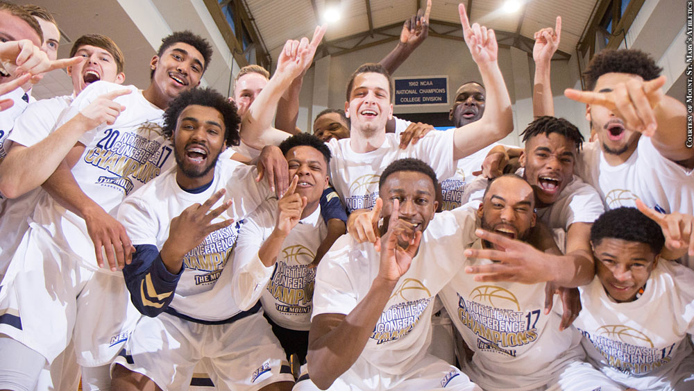 Mount St. Mary's Basketball