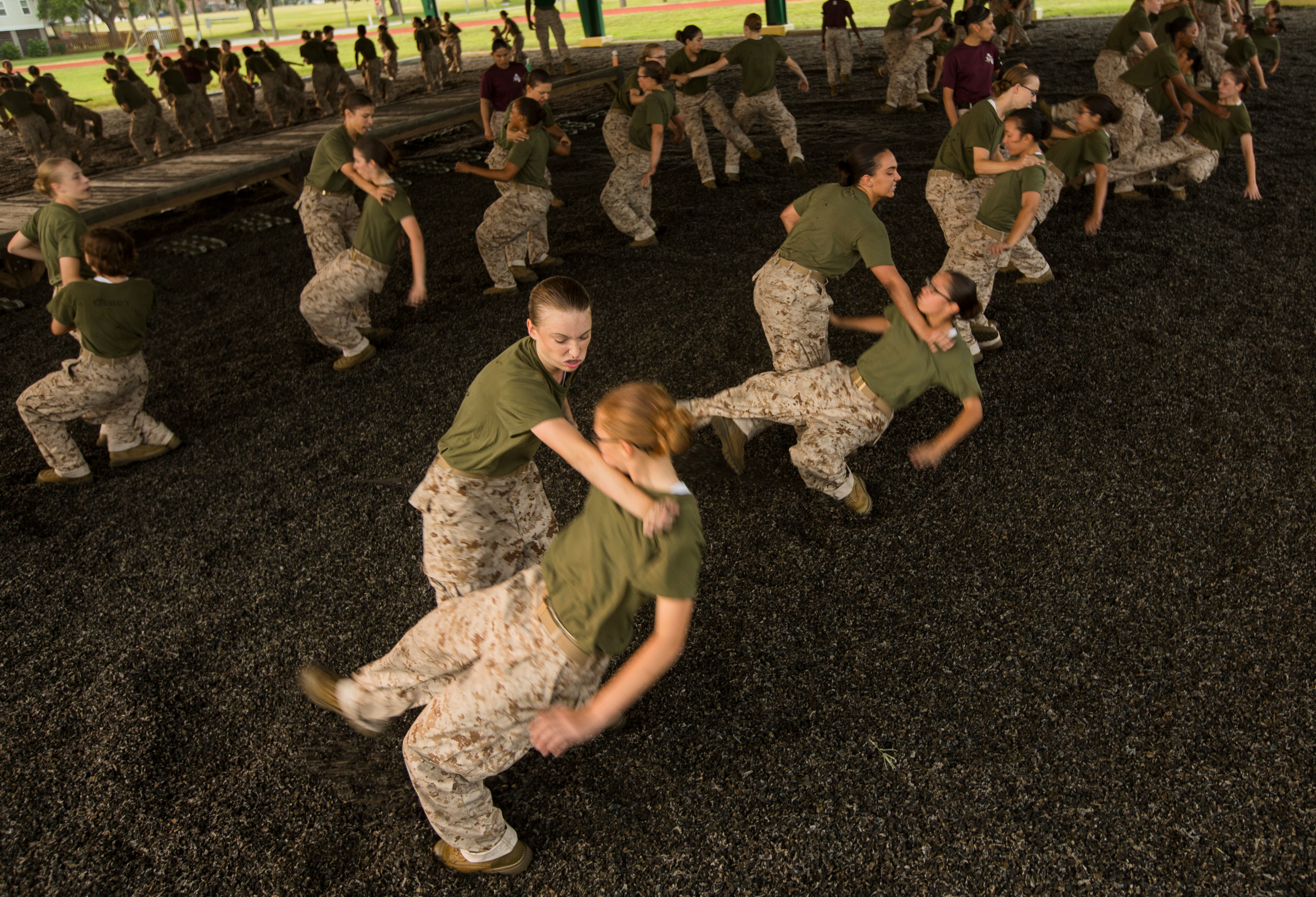 First women training for Marine infantry jobs to graduate boot camp