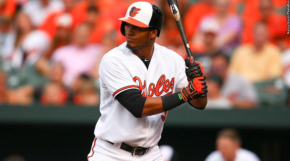 Orioles 2015: Jimmy Paredes (at bat 2)