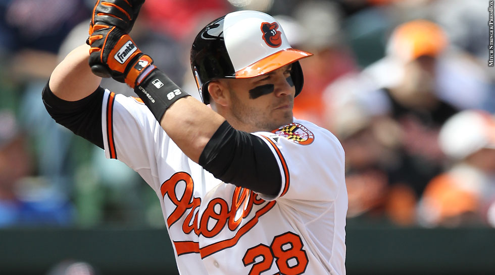 Orioles 2013: Steve Pearce (batting)