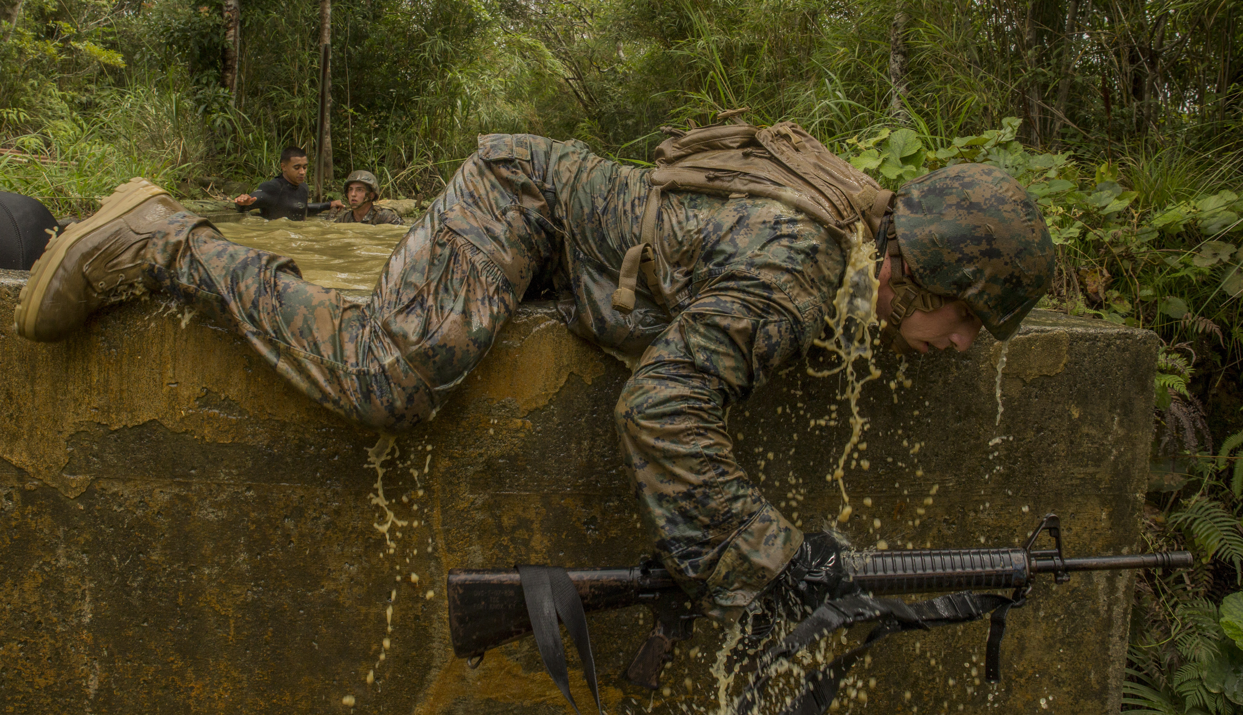 Marines To Test New Fast Drying Tropical Uniforms Boots