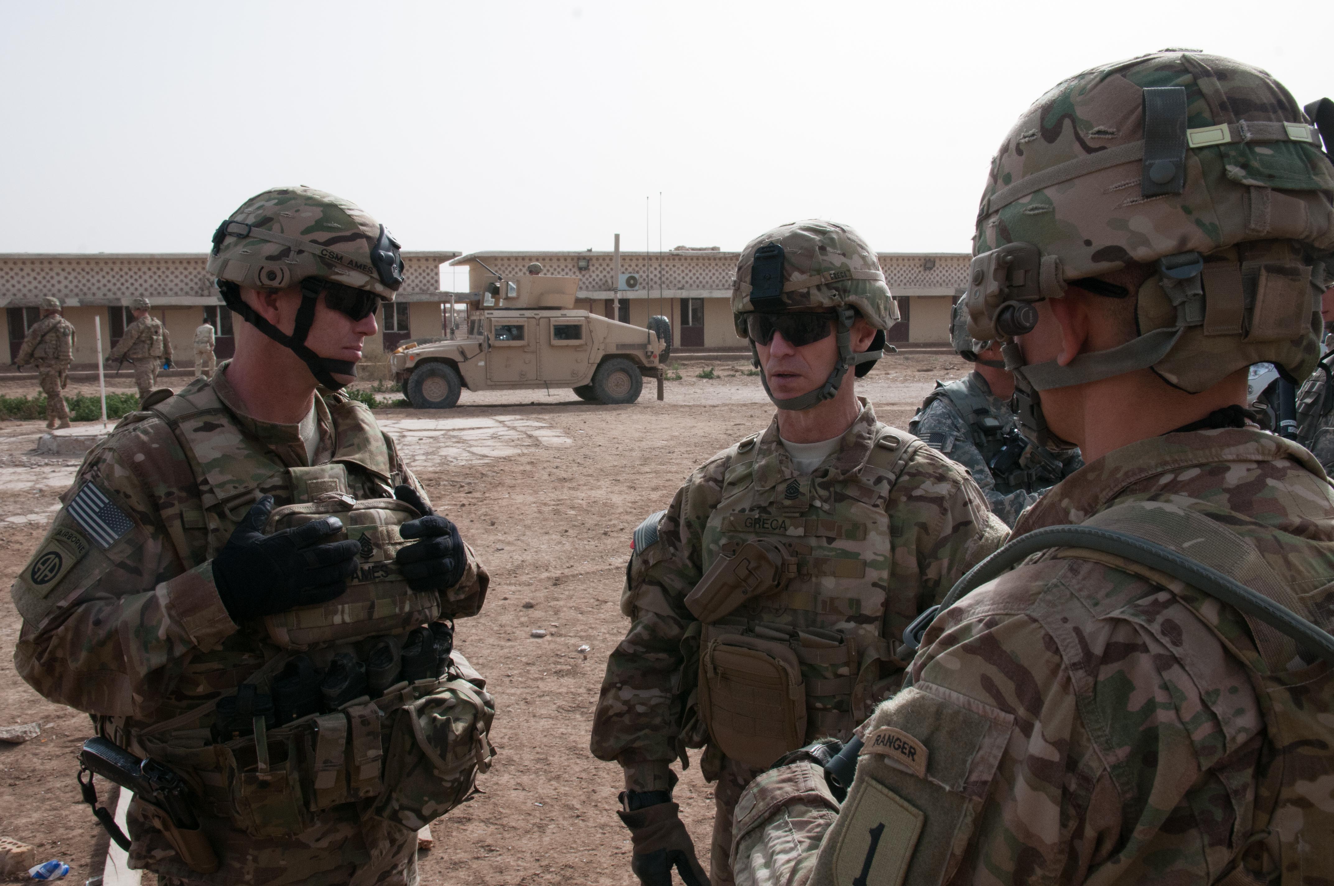 Command Sgt. Maj. Christopher K. Greca