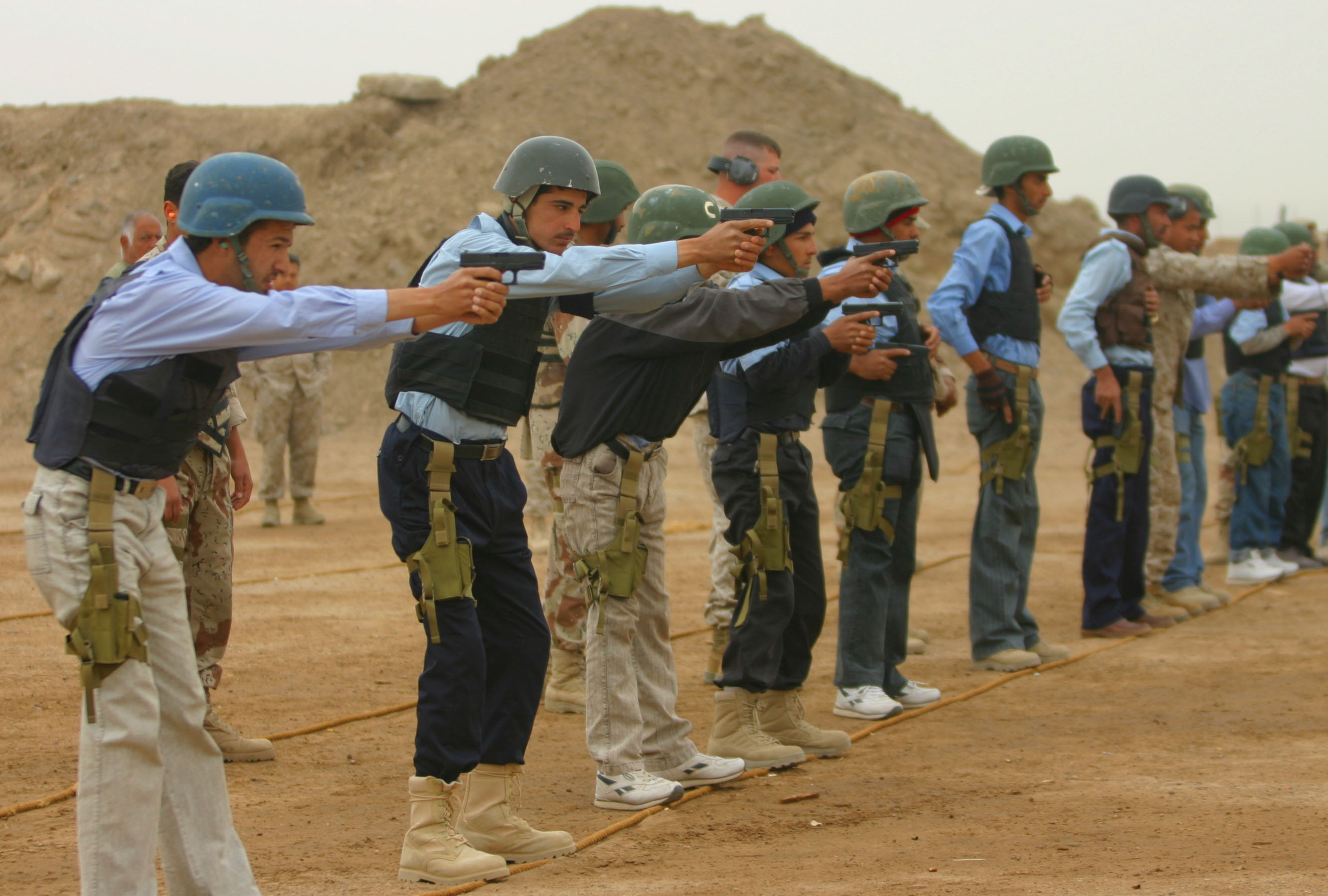 Iraqi Basic Training