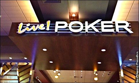 Maryland Live Staff Adapting To Addition Of Poker Room