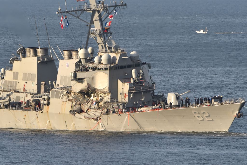Stories of 7 Fitzgerald sailors killed in destroyer-container ship crash