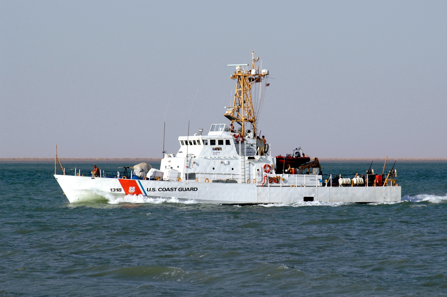 Us fighter jet deal ship visit show military links to qatar us coast guard cutter baranof wpb 1318 patrols the khawr abd allah the waterway which links umm qasr iraqs only deepwater port with the persian publicscrutiny Gallery