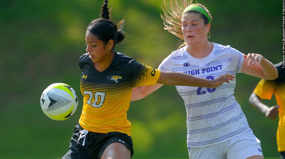 Issue 213: Towson Women's Soccer: Vasthy Delgado