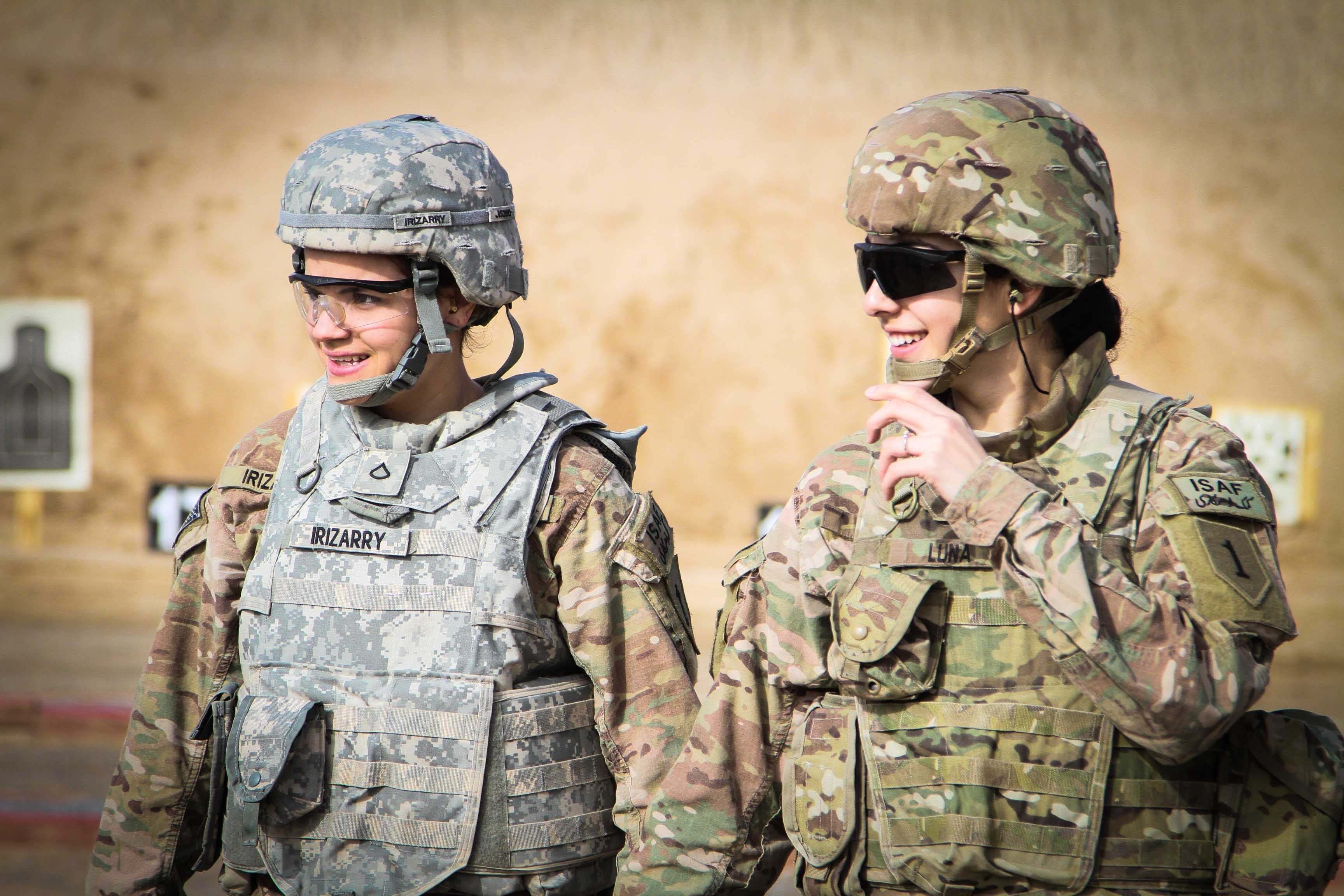 an analysis of women in combat in the united states The overall attrition rate of female soldiers in the us marine corp has  the  study was approved by the irb's of the israel defense forces.