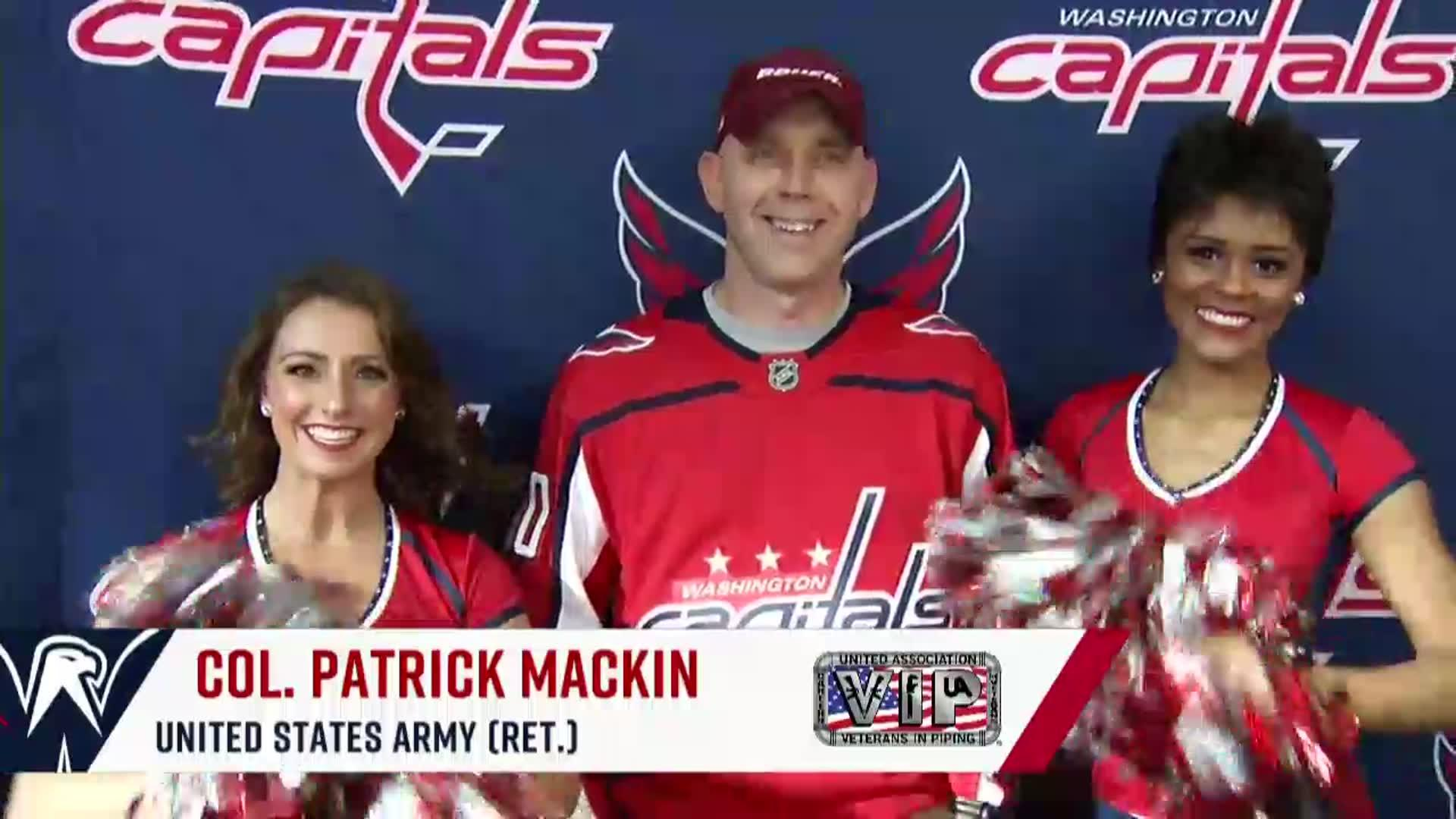 #CapsWild Salute to the Troops 11/18/17