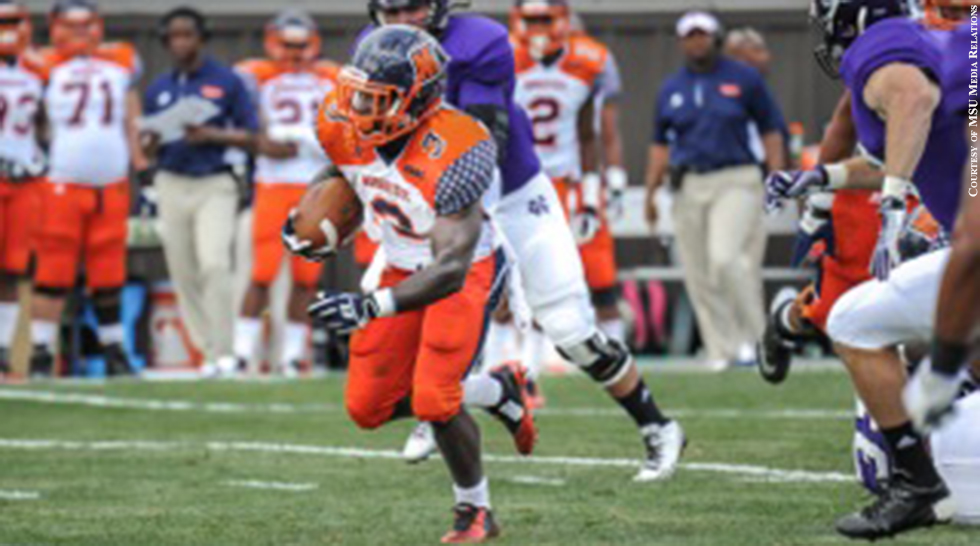 Morgan State Football 2014: Herb Walker Jr.